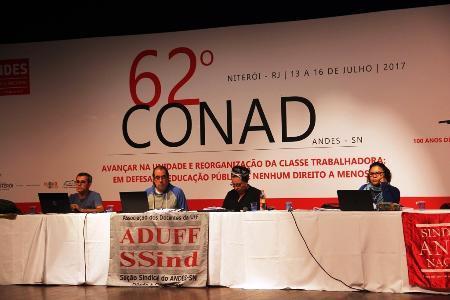Conad atualiza plano de lutas das Federais, Estaduais e Municipais