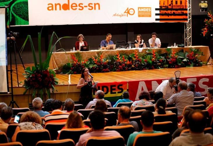 Delegação da Adusb participa do 38º Congresso do Andes – SN em Belém do Pará