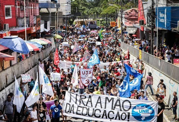 Tsunami da Educação: Protestos acontecem em todos os estados e no DF