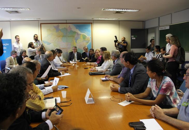 Fórum nacional de entidades dos servidores públicos federais tem primeira reunião com o Ministério do Planejamento