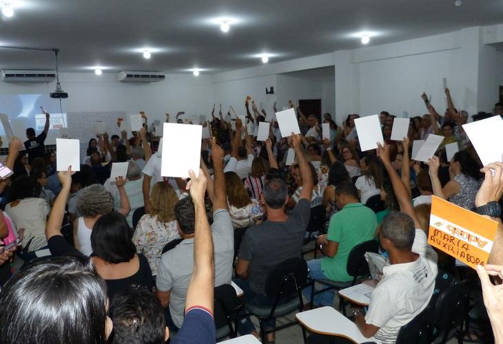 Greve é aprovada por professores da Uesb
