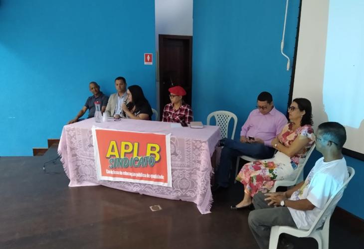 Adusb participa de cerimônia de posse da nova diretoria da APLB