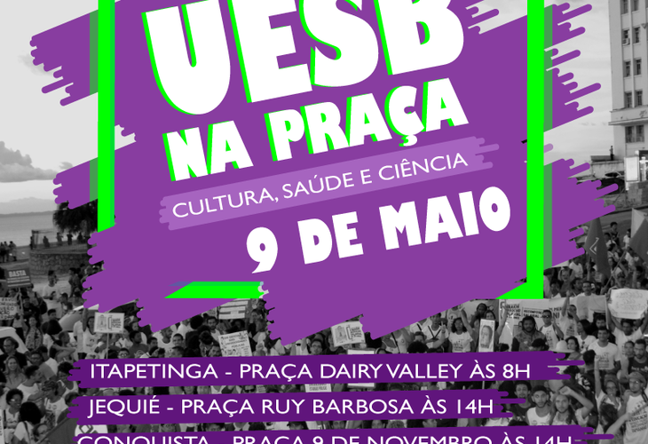 Uesb na Praça levará a importância da universidade para as ruas