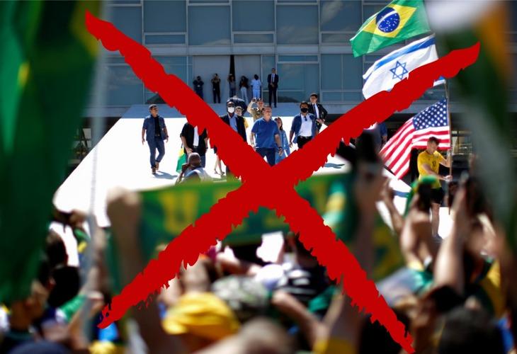 Bolsonaro aprofunda crise do governo com show de atrocidades e defesa da volta da ditadura militar