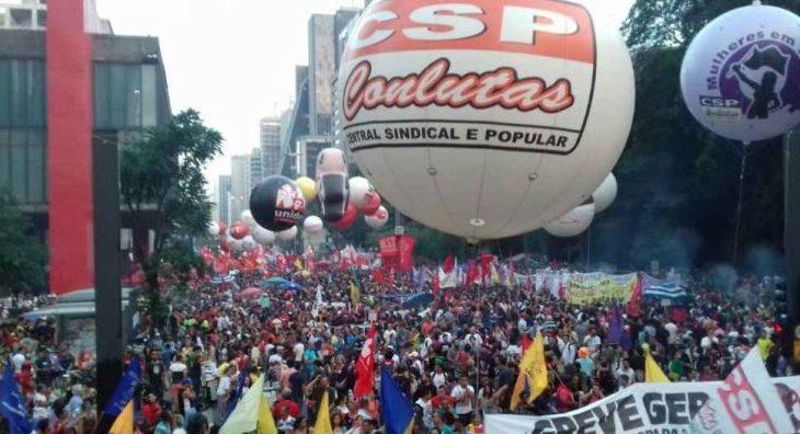 É hora de unir as lutas, rumo a uma paralisação nacional!