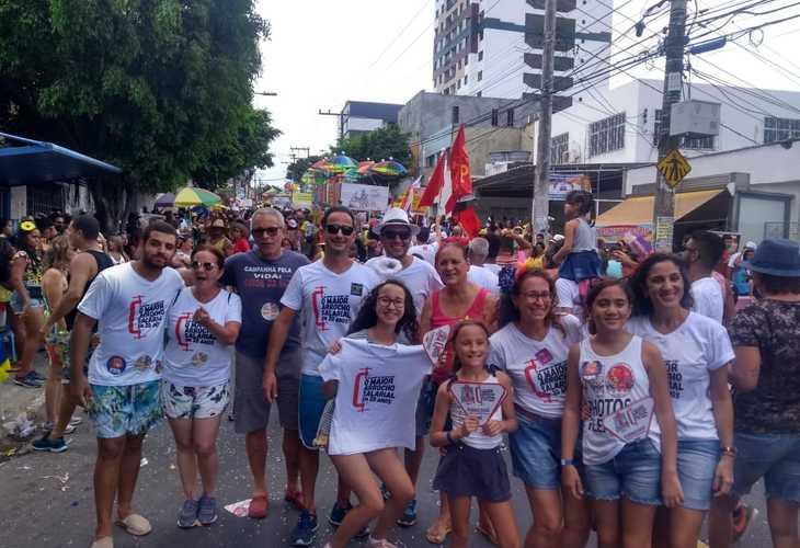 Fórum das ADs protesta na Mudança do Garcia