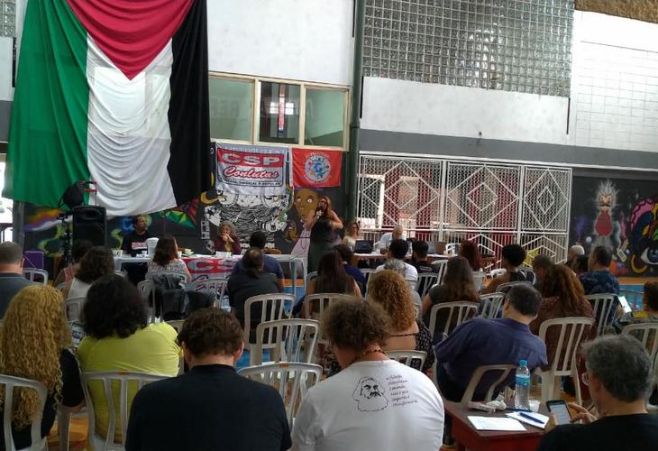 Reunião ampliada da CSP-Conlutas discute lutas no Brasil e no mundo e planeja próximas tarefas