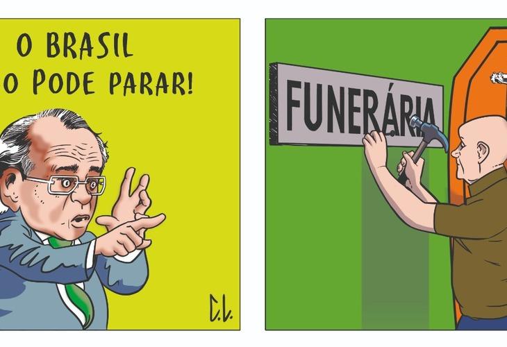 """Justiça proíbe propaganda do governo federal """"Brasil não pode parar"""""""