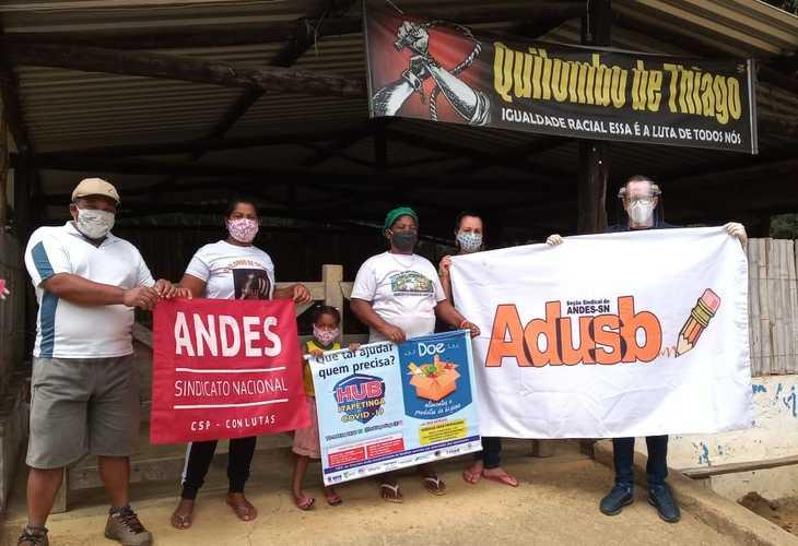 A Solidariedade Resiste: Adusb apoia HUB-Itapetinga no auxílio à população quilombola