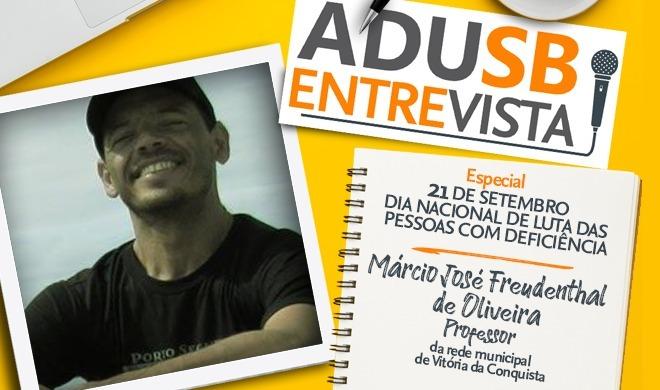 Dia de Luta das Pessoas com Deficiência: Entrevista com Márcio Freudenthal
