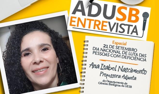 Dia de Luta das Pessoas com Deficiência: Entrevista com Ana Isabel Nascimento