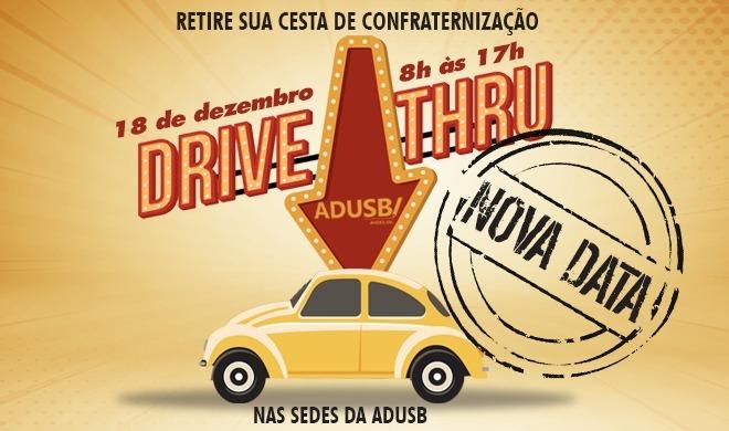 Drive-thru de final de ano acontecerá na sexta-feira (18)