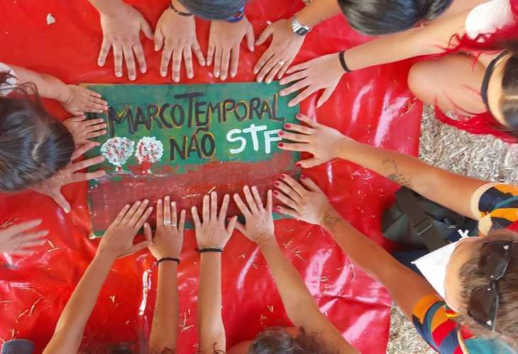 Povos indígenas resistem contra o Marco Temporal