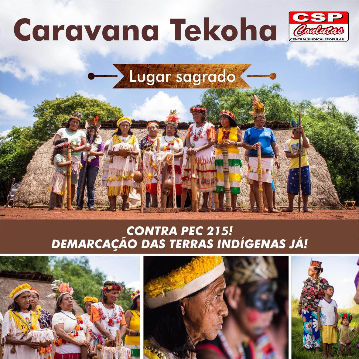 CSP-Conlutas organiza caravana a MS em solidariedade aos povos Guarani Kaiowa