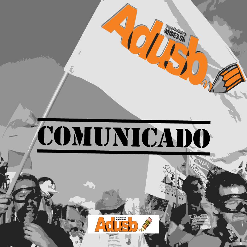 Adusb suspende funcionamento a partir de sexta-feira (25)