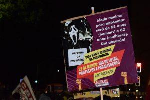 Rumo à Greve Geral: 22/3 confirma disposição de trabalhadores para barrar Reforma da Previdência
