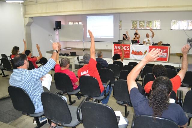 Assembleia aprova paralisação e atividades de mobilização no dia 1º de dezembro