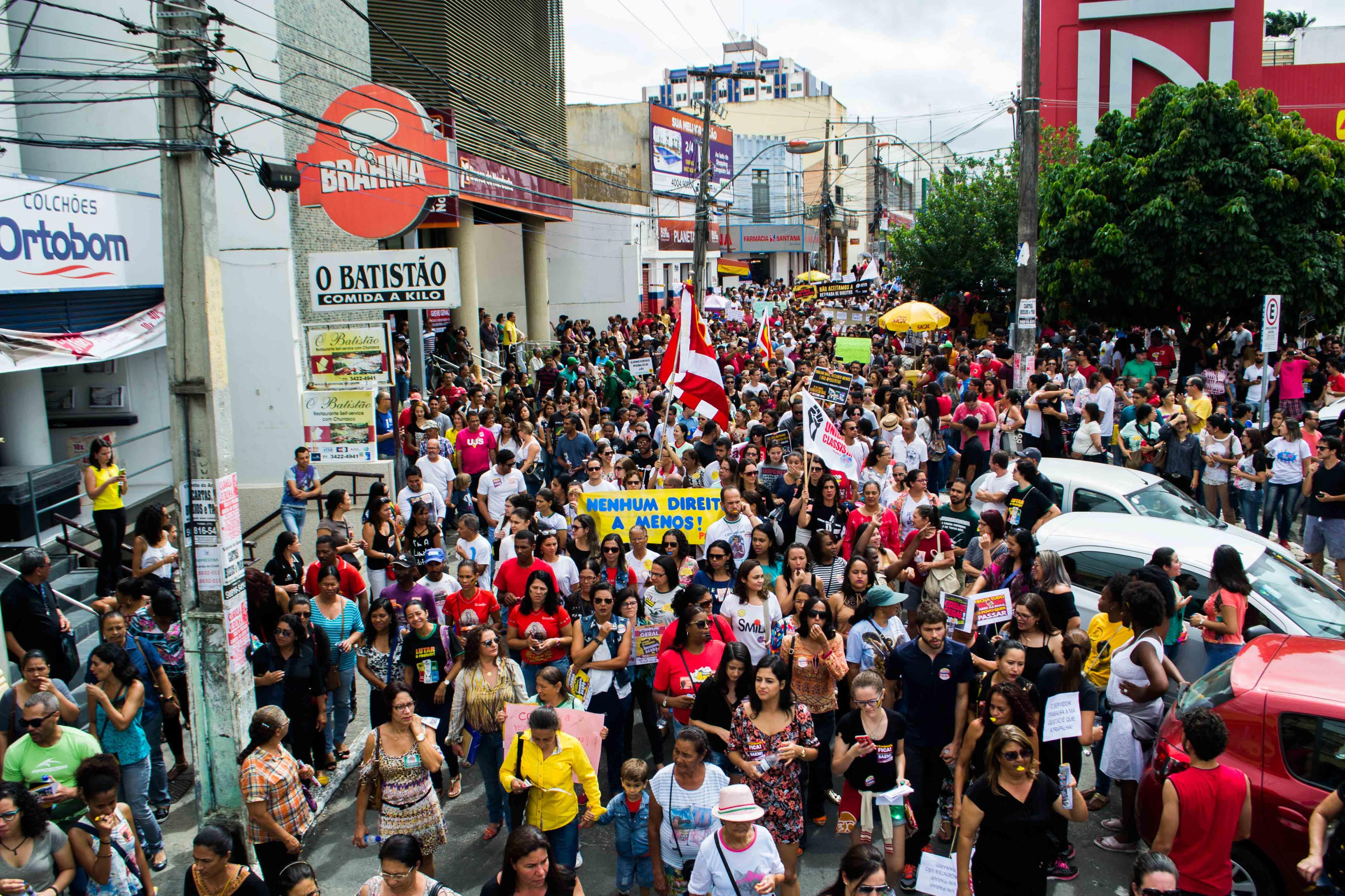 28 de Abril: Trabalhadores pararam o Brasil