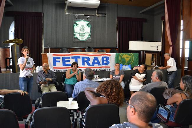 Fetrab não leva indicativo de greve para todas as categorias, mas o Fórum das ADs segue na construção da unidade