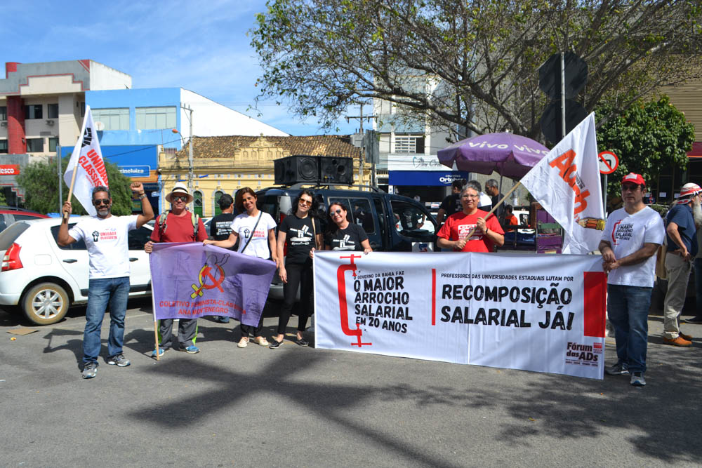 Dia do Basta: Adusb participa das mobilizações em Vitória da Conquista