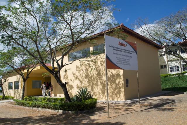 Construção da sede da Adusb em Itapetinga é concluída
