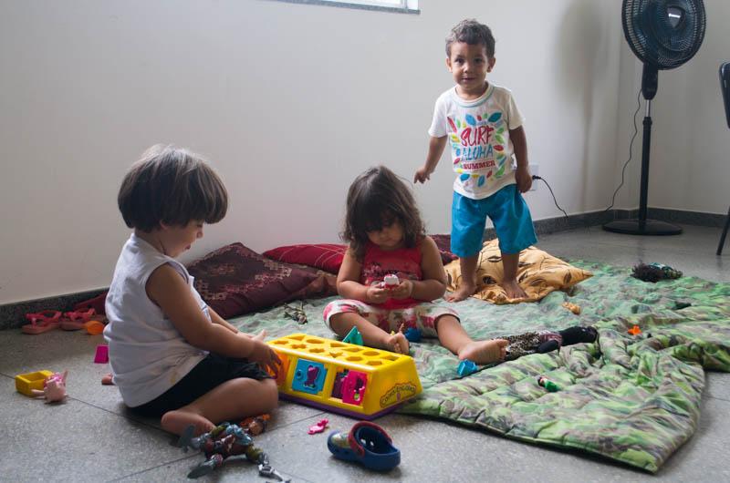 Espaço infantil recebe crianças do Seminário Gênero, Raça e Classe