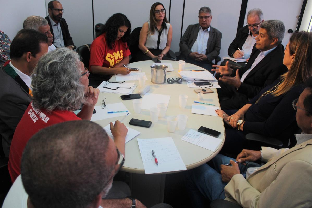 Reunião com o governo não avança na contraproposta do apresentada pelo movimento docente