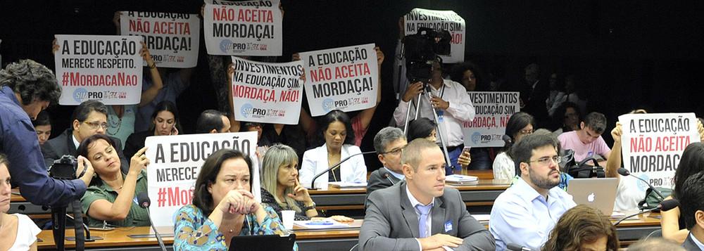 Confira a agenda de mobilização contra o Escola Sem Partido