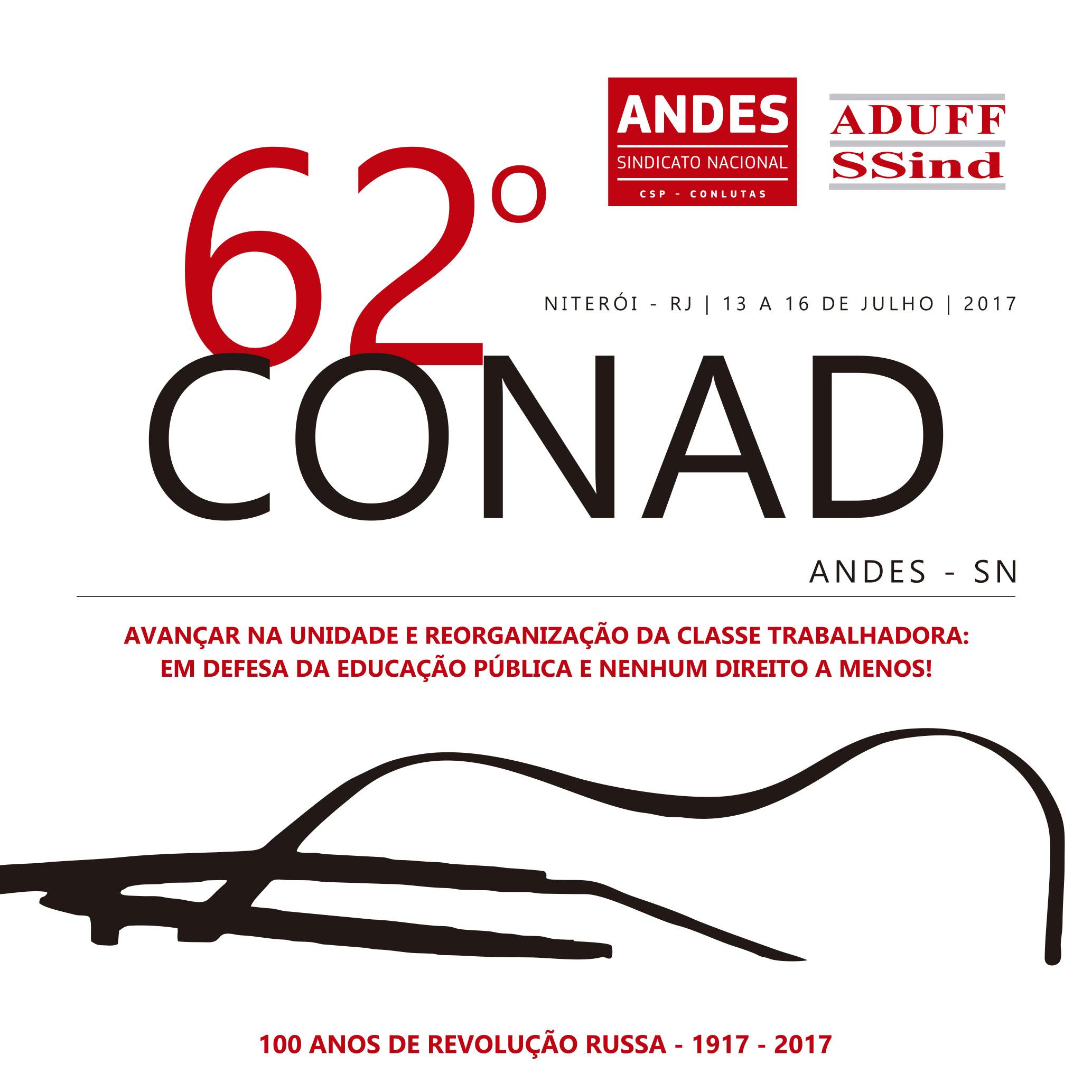 ANDES-SN divulga anexo ao Caderno de Textos do 62° Conad