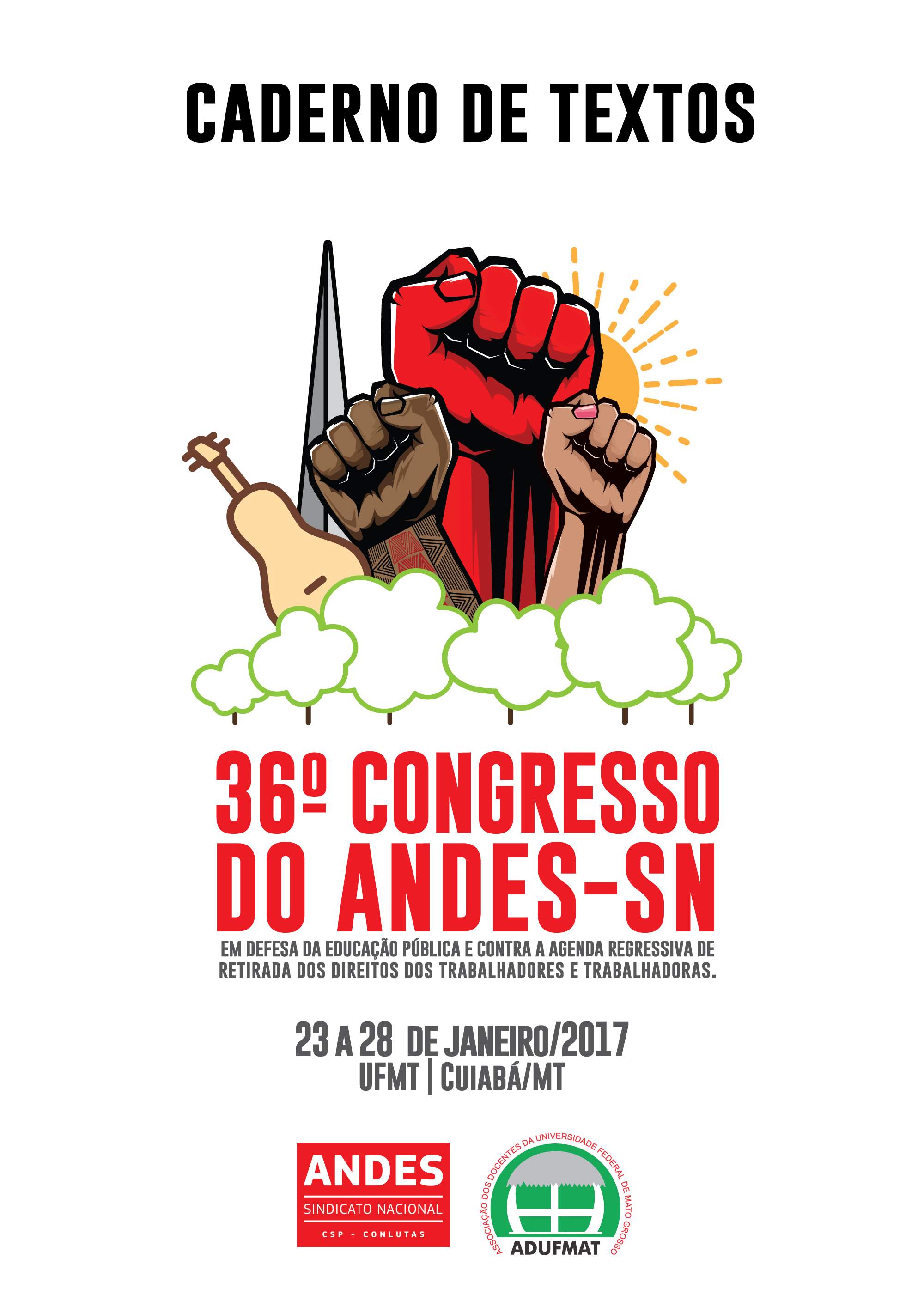ANDES-SN divulga Caderno de Textos do 36º Congresso