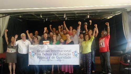 Reunião internacional aponta que ataque à Educação Pública é realidade mundial