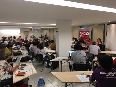 Setores do ANDES-SN indicam rodada de assembleias de 10 a 17 de outubro