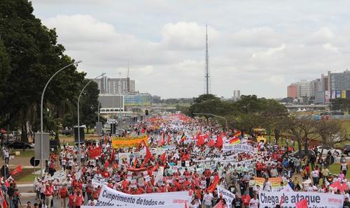 Relatório do Dieese aponta crescimento histórico de greves no país