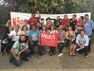 Informe do ANDES-SN sobre a mobilização contra a PLP 257/16