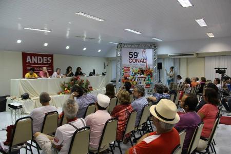 Conad expressa fortalecimento do ANDES-SN como entidade autônoma e democrática