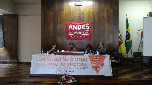 Seminário do ANDES-SN aprofundou debate sobre gênero, raça e diversidade sexual