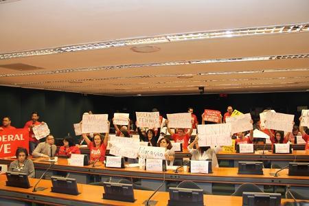 ANDES-SN participa de audiência pública sobre fim da gratuidade do ensino público