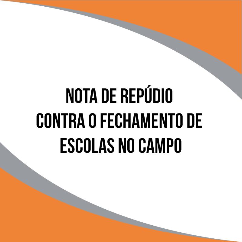 Moção de Repúdio contra o fechamento de escolas do campo em Vitória da Conquista - BA