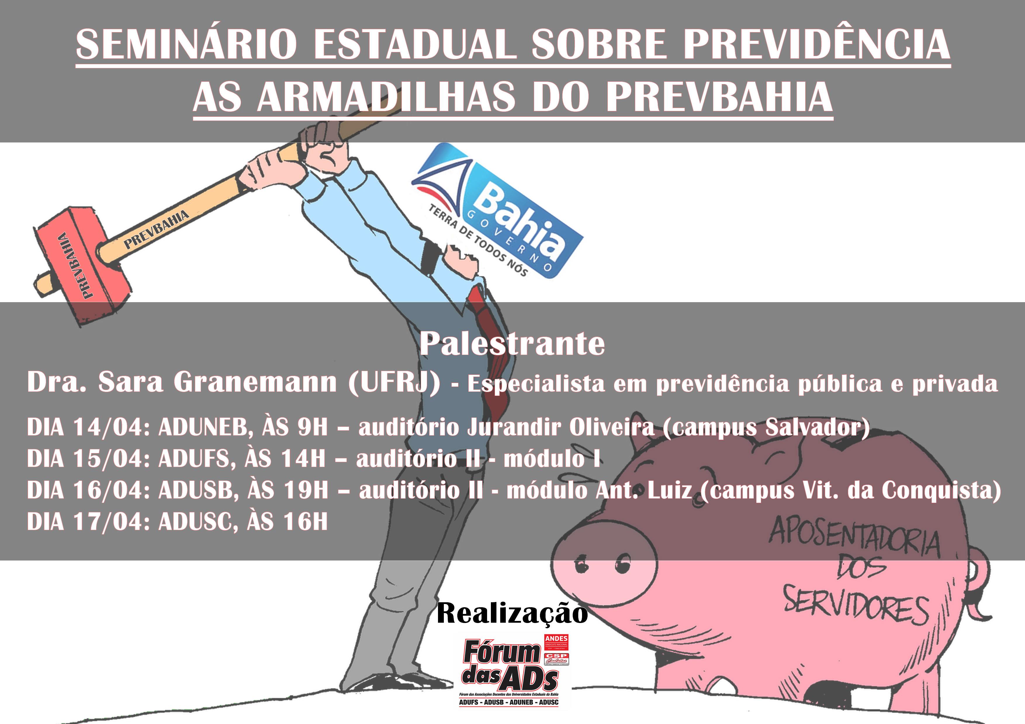 Seminário debaterá previdência complementar na Bahia