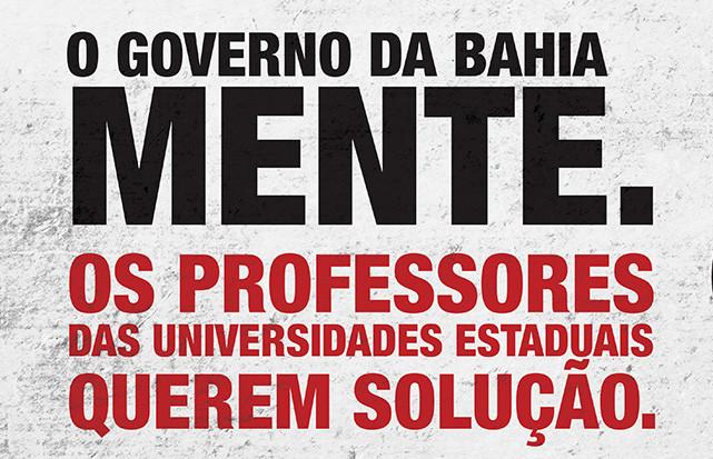 Governo Rui Costa distorce informações e ameaça professores com corte de salário