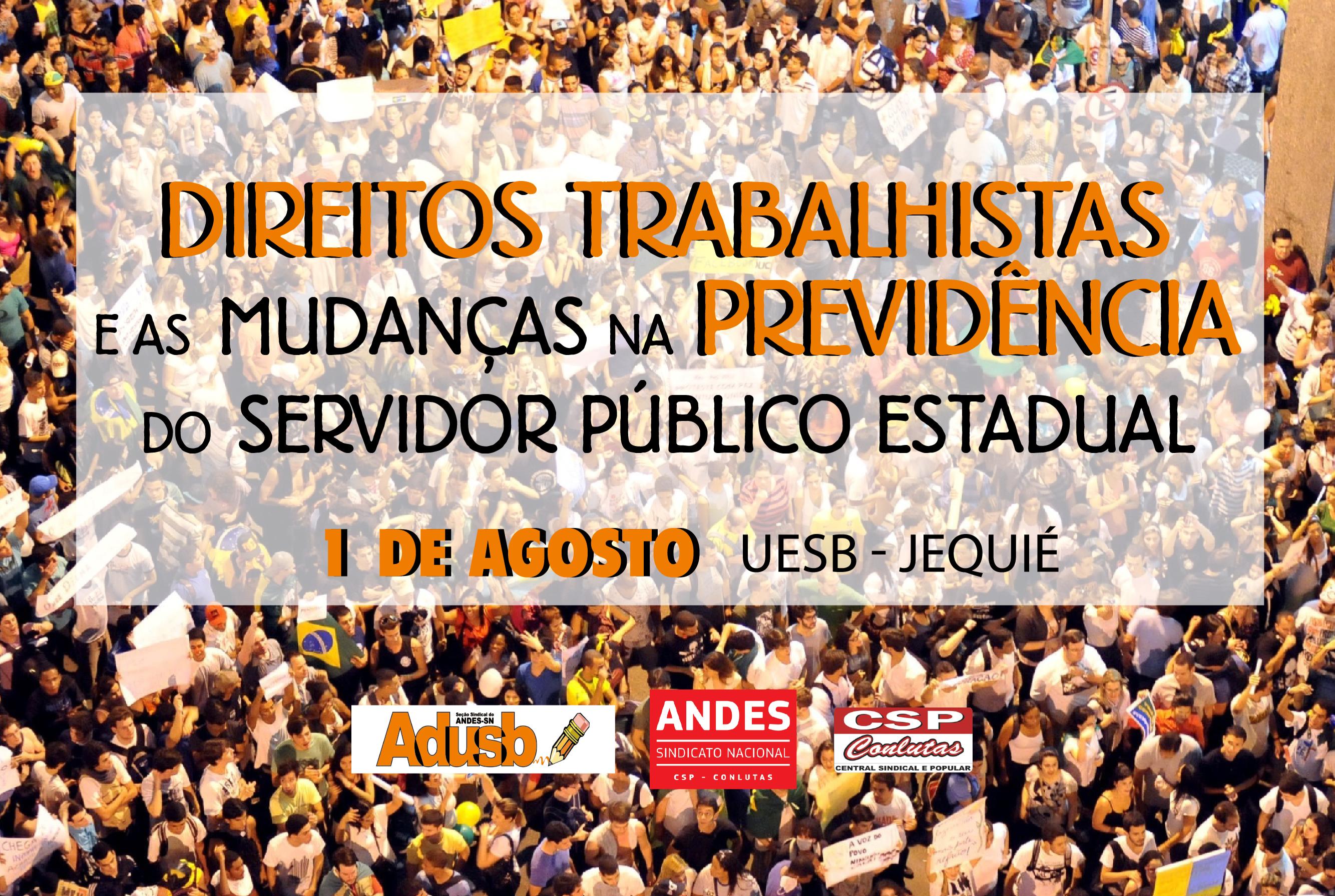 Aposentadoria e previdência serão temas de palestra da Adusb