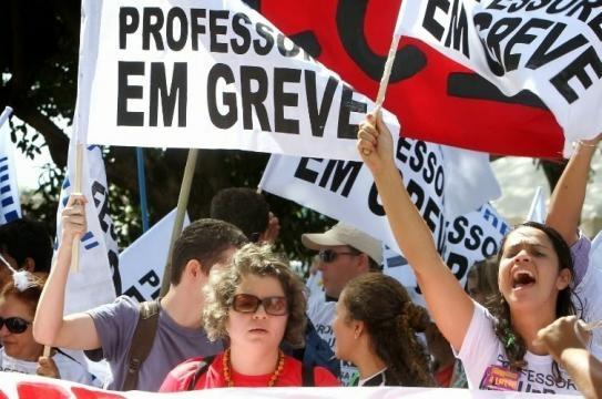Professores da rede estadual de Educação apontam greve nacional contra a reforma da Previdência e pelo cumprimento da lei do piso