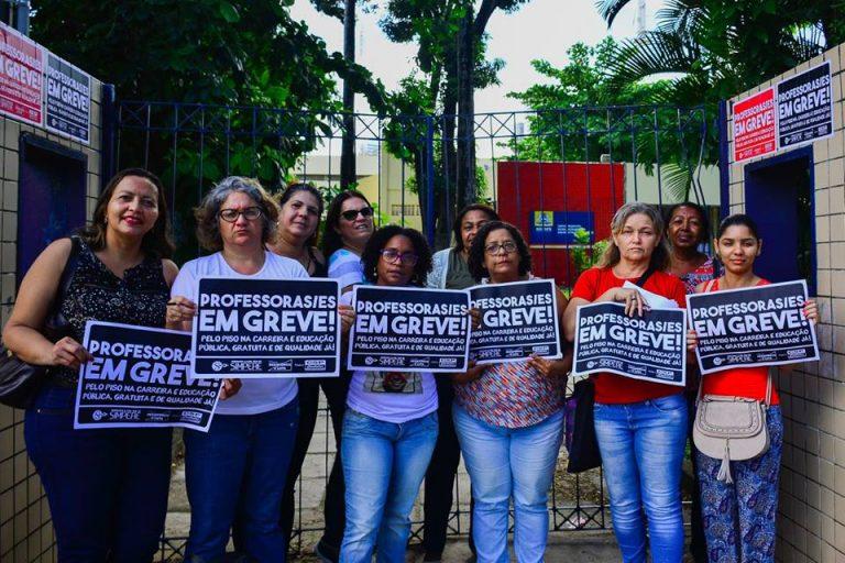 Em Recife (PE), greve dos professores começa forte e se soma às mobilizações em MG, PA, RN, RJ, AM e SC