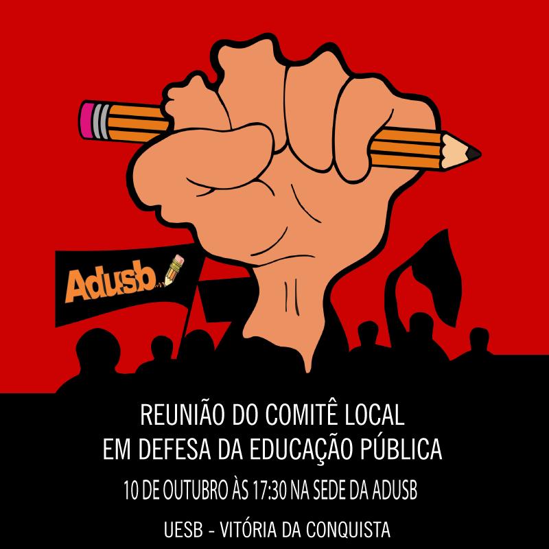 Comitê discute etapa local do Pré-ENE Bahia na quarta-feira (10)