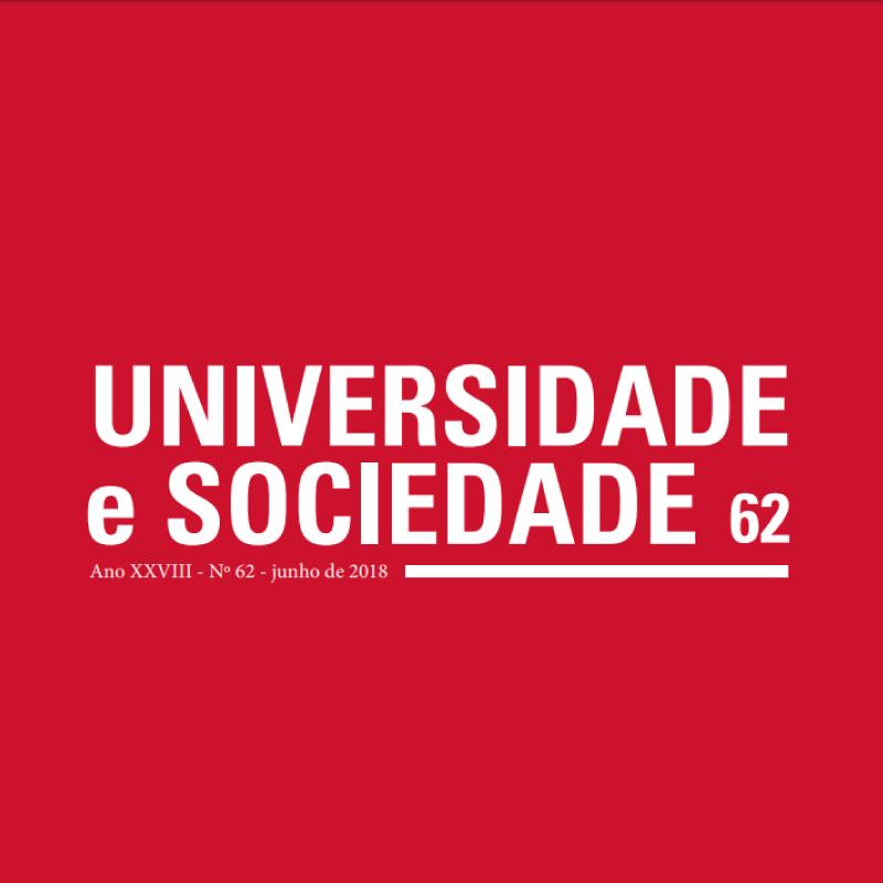 ANDES-SN recebe artigos para a Revista Universidade & Sociedade até 21 de setembro