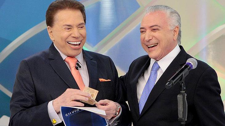 Repugnante: Temer e Silvio Santos se juntam para acabar com aposentadoria do trabalhador