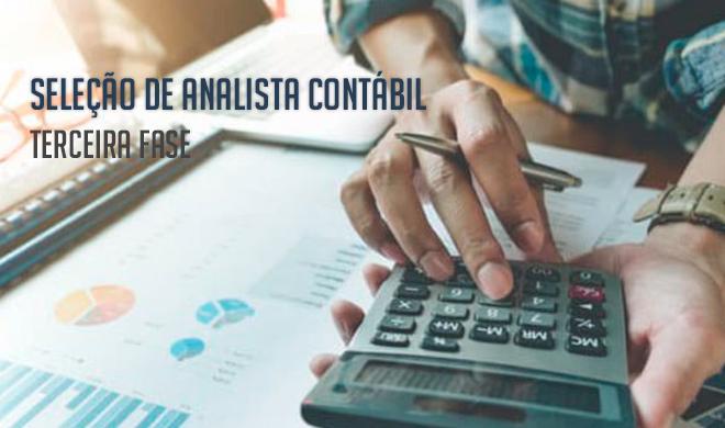 Seleção para analista contábil: Terceira fase