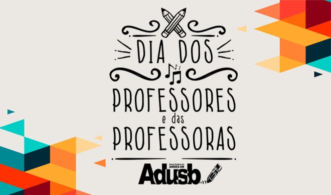 Confraternizações do Dia da Professora e do Professor