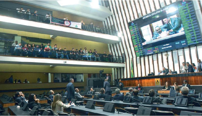 Base governista rejeita emenda para reajuste salarial dos servidores da Bahia