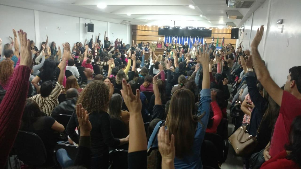 Professores da rede municipal de Vitória da Conquista entram em greve